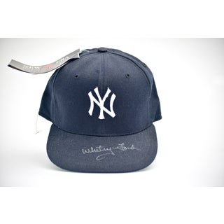 Whitey Ford Autographed NY Yankees Baseball Hat