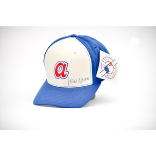 Hank Aaron Autographed Atlanta Team Baseball Hat