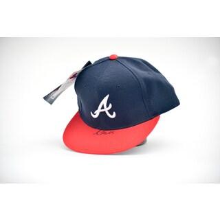 Greg Maddux Autographed Atlanta Braves Baseball Hat