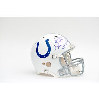 Peyton Manning Autographed Indianapolis Colts Helmet