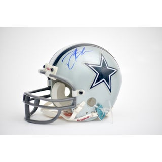 Deion Sanders Autographed Dallas Cowboys Mini Helmet