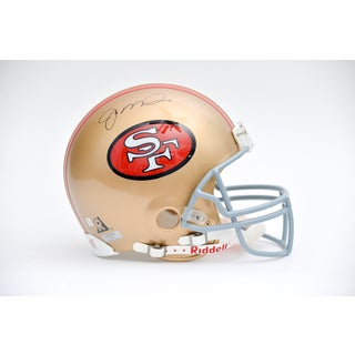 Joe Montana Autographed San Francisco 49ers Team Helmet