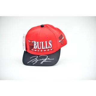 Michael Jordan Autogaphed Baseball Hat