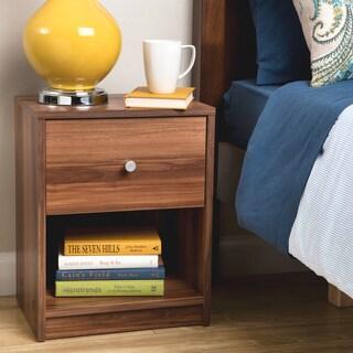 Portland Single Drawer Chestnut Nightstand