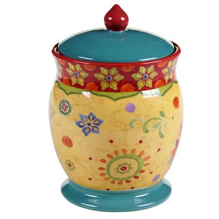 Certified International - Tunisian Sunset Biscuit Jar 9.75-inch