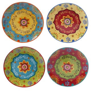 Certified International - Tunisian Sunset 10.5-inch Dinner Plates (Set of 4)