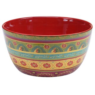 "Certified International - Tunisian Sunset Deep Bowl 11"" x 5.5"""