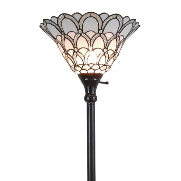 Shop Amora Lighting Tiffany Style Jewel 72 Inch Floor