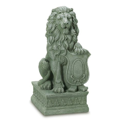 Mojestic Outdoor Lion Sculpture