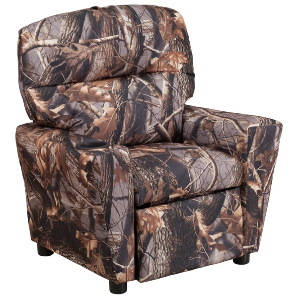 Shop Camo Fabric Kids Recliner Free Shipping Today