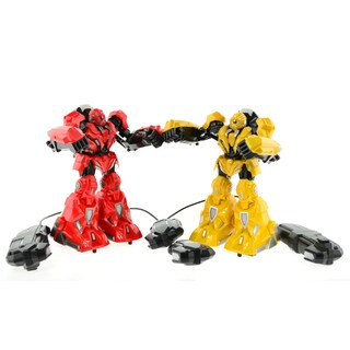 CIS Red and Yellow Pair of Fighting Robots