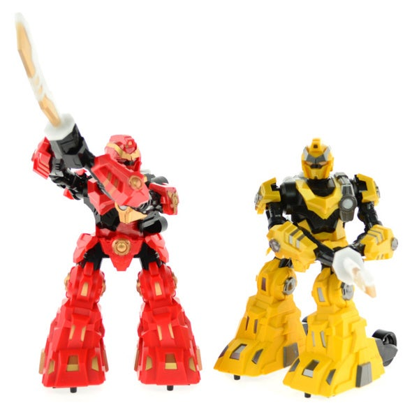 CIS Yellow and Red Pair of Sword Robots
