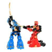 CIS Red and Blue Pair of Sword Rrobots