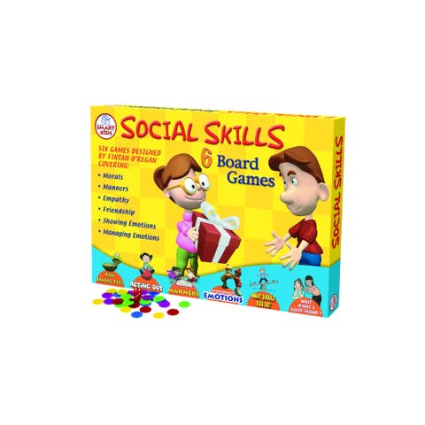 Didax 6 Social Skills Board Games