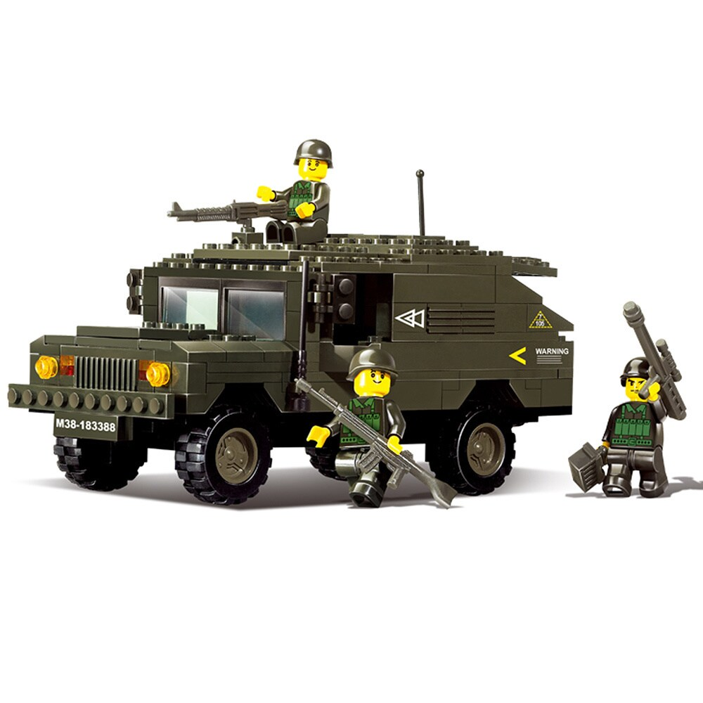 Sluban Hummer Chariot M38-B9900 (multi), Green