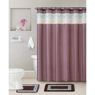 VCNY Floral 17-piece Bathroom Set