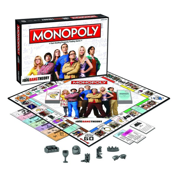 USAopoly The Big Bang Theory Monopoly