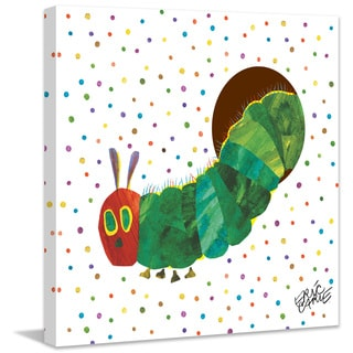 Marmont Hill - Caterpillar Dots by Eric Carle Painting Print on Canvas