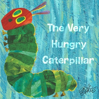 Marmont Hill - The Very Hungry Caterpillar 3 by Eric Carle Painting Print on Canvas