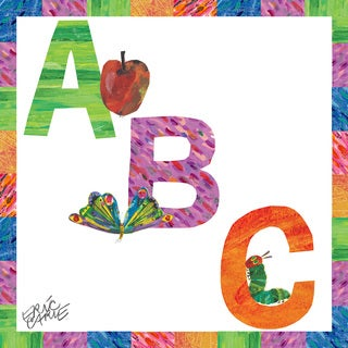 Marmont Hill - Abc Letters by Eric Carle Painting Print on Canvas