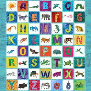 Marmont Hill - Animal Alphabet by Eric Carle Painting Print on Canvas