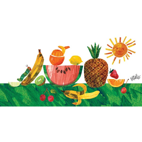 Shop Marmont Hill - Caterpillar And Tropical Fruit by Eric Carle ...