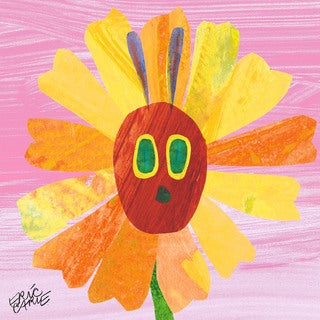 Marmont Hill - Caterpillar Sunshine by Eric Carle Painting Print on Canvas