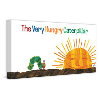 Marmont Hill - The Very Hungry Caterpillar by Eric Carle Painting Print on Canvas