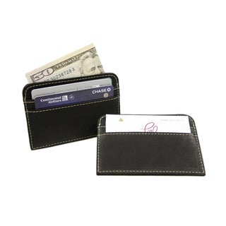 Piel Leather Slim Business Card Case