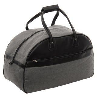 Piel Leather 20-inch Carry On Satchel Duffel Bag