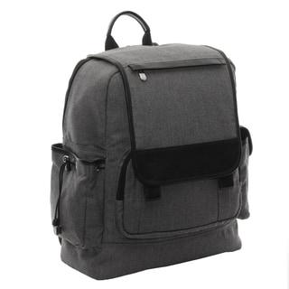 Piel Leather Multi-Pocket Travelers Backpack