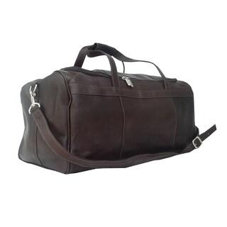 Piel Leather Traveler's Select Medium Duffel Bag
