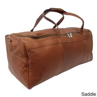 Piel Leather Traveler's Select Large Duffel Bag