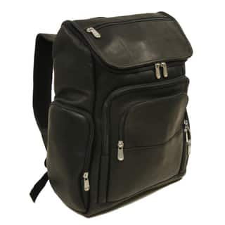 Piel Leather Multi-Pocket Laptop Backpack|https://ak1.ostkcdn.com/images/products/10840696/P17882273.jpg?impolicy=medium