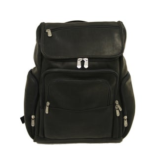 Piel Leather Multi-Pocket Laptop Backpack (3 options available)
