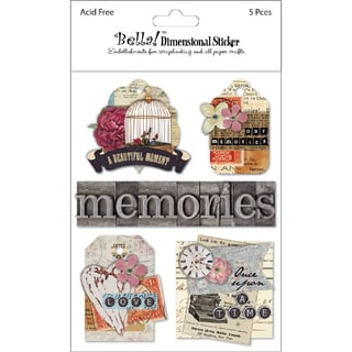 Bella! Memories 3D Stickers