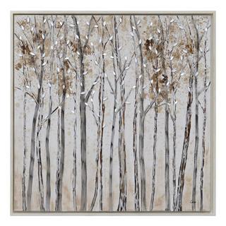 Ren Wil Winter Walk Framed Floating Canvas Wall Art