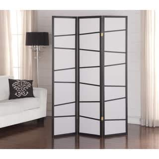 Black 3-panel Screen Room Divider|https://ak1.ostkcdn.com/images/products/10840802/P17882094.jpg?impolicy=medium