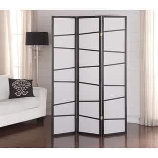 Black 3-panel Screen Room Divider|https://ak1.ostkcdn.com/images/products/10840802/P17882094.jpg?impolicy=medium