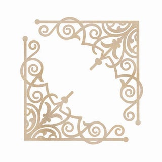 Wood Flourishes-Intricate Corners 2/Pkg