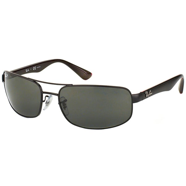 1eb4330c40 Shop Ray Ban Unisex RB 3445 006 P2 Matte Black Sport Sunglasses ...