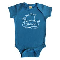 Rocket Bug Viking Ship Baby Bodysuit