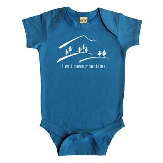Rocket Bug 'Move Mountains' Baby Bodysuit