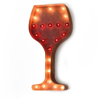 Indoor/ Outdoor Commercial Grade 2 ft. Steel Wine Glass Profession/Commercial MarqueeLight|https://ak1.ostkcdn.com/images/products/10841027/P17882379.jpg?impolicy=medium