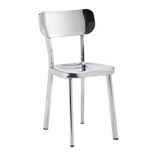 Zuo 'Winter' Silver Metal Dining Chair (Set of 2)