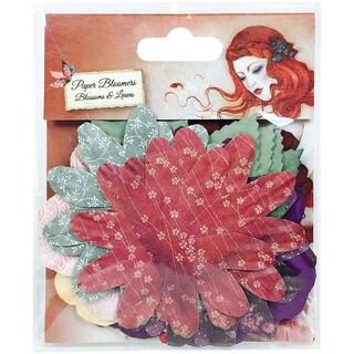 Santoro Willow Paper Blossoms & Leaves 30/Pkg