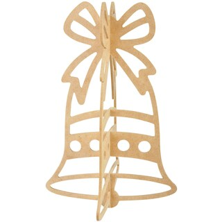 Beyond The Page MDF Hanging Bell Ornament-10.5inX7inX7in
