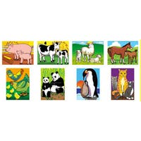 Melissa and Doug Mothers and Baby Animals Puzzle Set