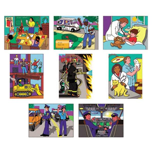 Melissa & Doug Multi-Ethnic Careers 8-Puzzle Set