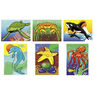 Melissa and Doug Sea Life Puzzle Set